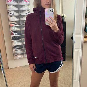 Nike Asymmetrical Running Zip Sweatshirt